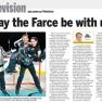 Air Farce in the Sun Newspaper