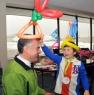 Telus VP Gets Hatted by Santa's Helper