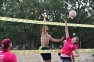 yBILD Charity Beach Volleyball Action