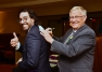 MPP Ernie Hardeman Sign His 'HomeBeliever 'Pledge on OHBA 's CEO's Back April 2018