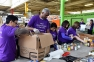 TELUS Employees on their Day of Giving Help out at the Daily Bread Food Bank